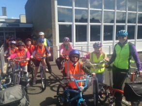 Bikeability training completed